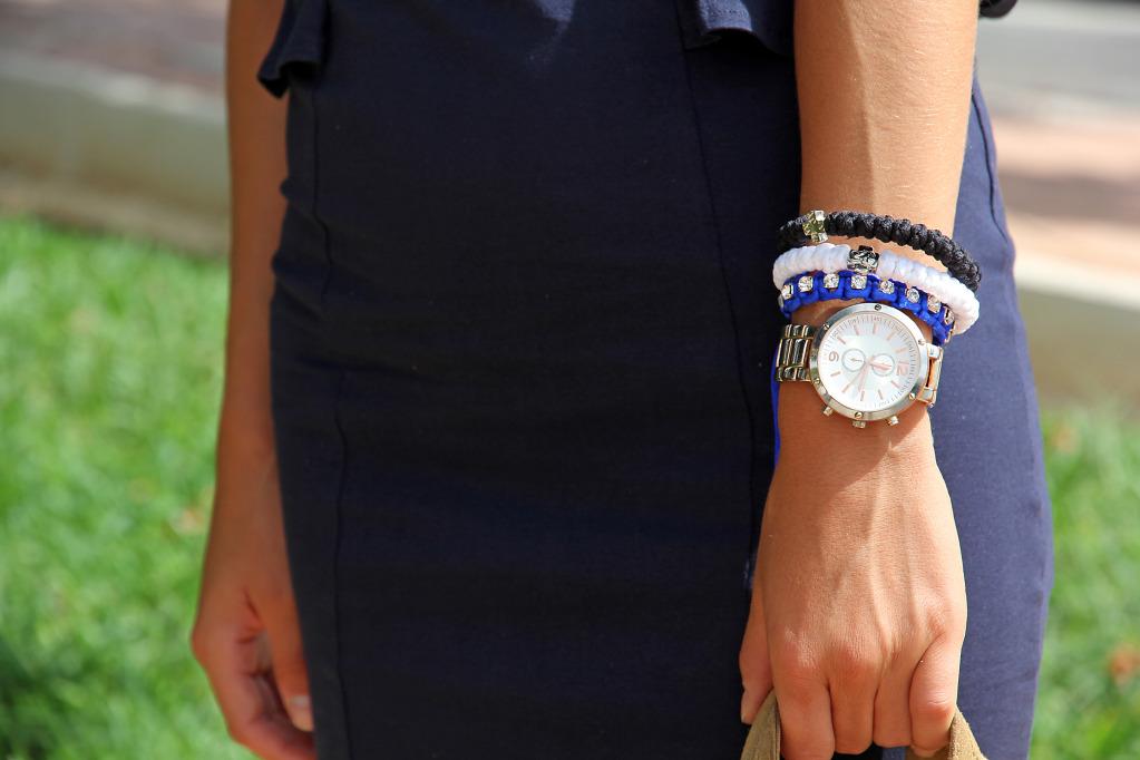 Black and White 33Knots Bracelet