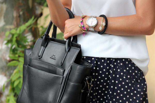 Feature SeamsForADesire Black Komboskini Bracelet